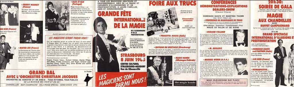 Affiche de LES MAGICIENS SONT PARMI NOUS le 8 juin 1985