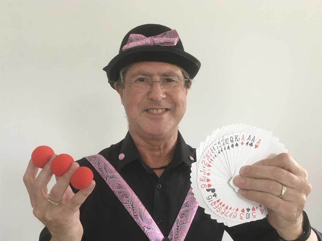 Richard-Motch, magicien au Cercle Magique d'Alsace